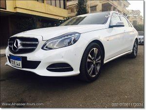 ايجار مرسيدس E200 بالسائق مصر
